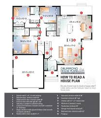 how to read house plans to read a floor plan
