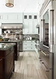 blue gray stained kitchen cabinets blue gray kitchen cabinets contemporary kitchen