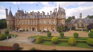 waddesdon from the air youtube