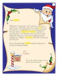 personalized letter from santa easy free letter from santa magical package printable letters