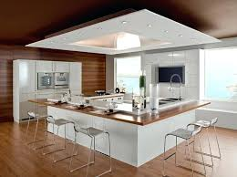 cuisine en u modele amenagement cuisine modele de cuisine ouverte sur salle a