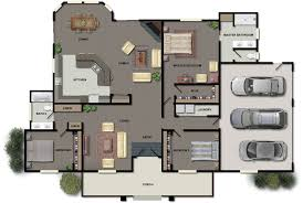 3 Bedroom House Plans Nz House Plan House Rendering Archives House Plans New Zealand Ltd
