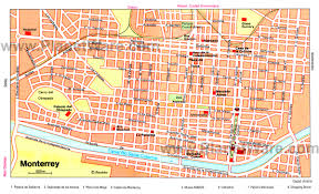 Mexico City Airport Map Tourist Map Of Mexico City World Maps