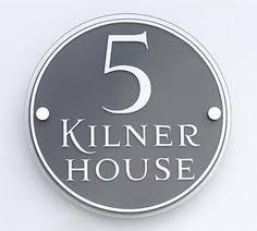 glass door number signs house number sign plaque modern frosted glass effect acrylic