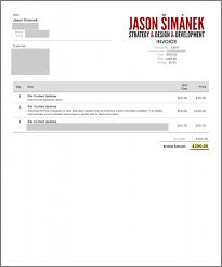 website invoice template free business template