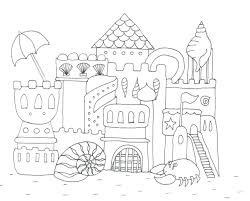 articles sand castle coloring pages print tag sandcastle