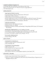 sample harvard resume chronological resume template sample harvard