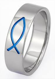 christian engagement rings titanium christian ring cr1 titanium rings studio