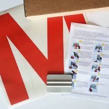 personalised name wall sticker by little chip notonthehighstreet com what s in the box