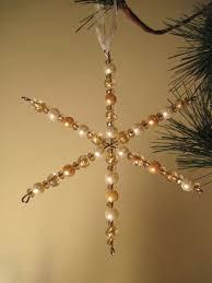 257 best beaded snowflakes images on beaded snowflake
