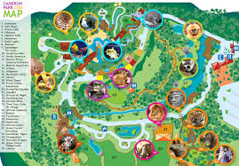 map waco zoo map cameron park zoo