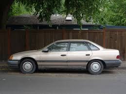 curbside classic 1986 ford taurus mercury sable u2013 at this moment