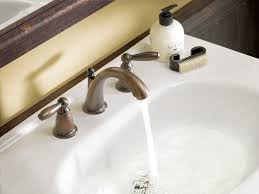 bathroom faucet without valve oil rubbed bronze bathroom sink