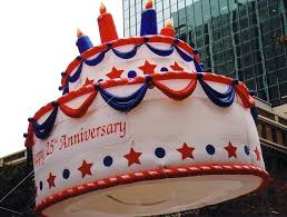 birthday cake parade balloon fabulous inflatables helium