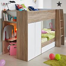 Bunk Bed With Storage Stairs Wood Bunk Beds With Storage Drawers Stairs For Kids U0026 Adults