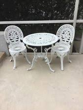 White Patio Furniture Used Outdoor Furniture Ebay