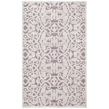 willa arlo interiors bilboro mauve violet area rug u0026 reviews wayfair