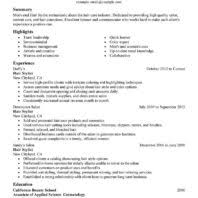 Hairdresser Resume Examples by Nice Resume Sample For Hair Stylist Job Position With Experience