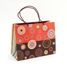 gift bags concentric circles large gift bag