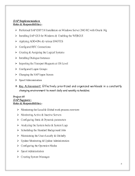 Download Sample Resume With Photo Mubashir Ahmed Erp Sap Basis Consultant Resume With 3 Yr Exp