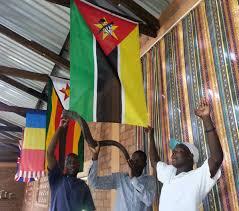 Flag With Ak 47 Mozambique Rod U0026 Ellie U0027s Amazing Race