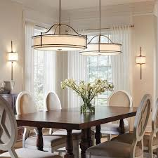 Dining Room  Linear Chandelier Dining Room With Delightful Dining - Kichler dining room lighting