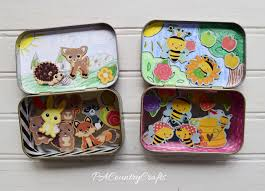 altoid tin magnetic playset tutorial pa country crafts