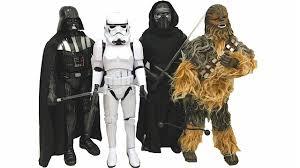 Chewbacca Halloween Costumes Star Wars Animatronic Figures Darth Vader Chewbacca
