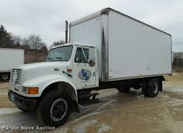 1995 international 4700 box truck item db5483 sold marc