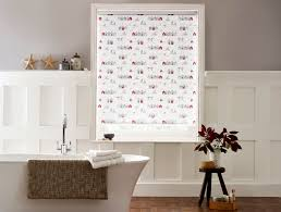 awesome red roman blinds kitchen taste