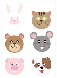 photos preschool printable animal masks printable animal