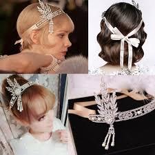 1920 hair accessories flapper style hair accessories wedding ideas