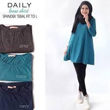 blouse wanita baju atasan blouse wanita baju muslim blus muslim daily
