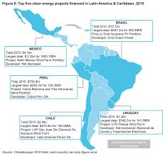 Latin And South America Map by Latin America U0026 The Caribbean U2014 Climatescope 2016
