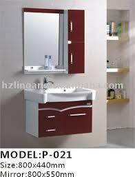 Ornate Bathroom Mirror 800x440mm Modern Pvc Bathroom Cabinets Mirrorwashbasinmedicine
