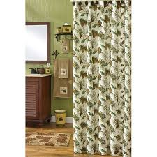 Cabin Shower Curtains Walk In The Woods Shower Curtain Curtain Gallery Images