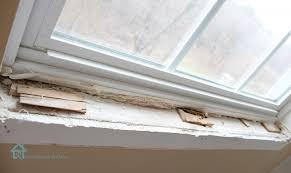 Wooden Interior Window Sill How To Install Window Trim Pretty Handy