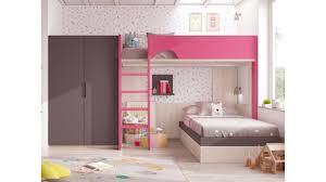 chambre lit superposé lit superposé fille pour chambre personnalisable glicerio so nuit