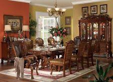 Traditional Dining Room Set Acme Cherry Traditional Dining Furniture Sets Ebay