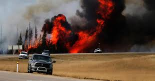 Current Wildfires In Canada by New Era Of U0027super Fires U0027 As Climate Change Triggers Hotter Drier