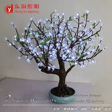 waterproof artificial flowers led light display for indoor