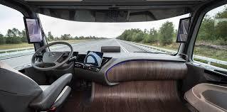 mercedes benz future truck 2025 concept debuts with autonomous