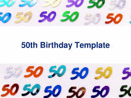 50th birthday invitation template eliolera com