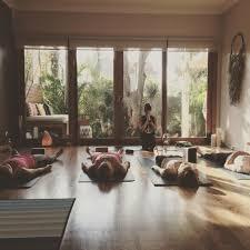 Home Yoga Room by Australia Lunar Nights At Bondi Yoga House Manifest Move And