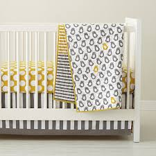Infant Crib Bedding Baby Crib Bedding Baby Grey Yellow Patterned Crib Bedding