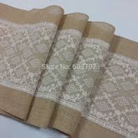Navy Blue Lace Table Runner Wholesale Wedding Table Runners Highly Recommend Wedding Favors