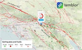 San Bernardino County Map M U003d3 6 Earthquake On San Jacinto Fault Shakes San Bernardino