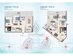 3 Bedroom Apartments Floor Plans by By Danube 2 U0026 3 Bedroom Apartment Floor Plan