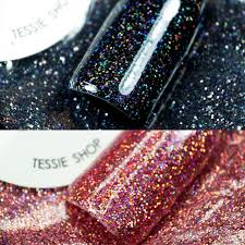 holographic glitter tessie shop beautiful glitter nail designs 0 2mm gold holographic