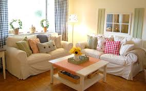 charming country living decorating ideas with living room stylish